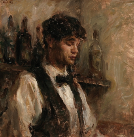 Portrait of Young Bartender