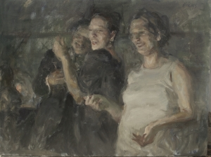 In The Groove - Painting by Ron Hicks